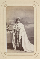 BHOPAL: Shah Jahan Begum, Begum of Bhopal (1838-1901). 15